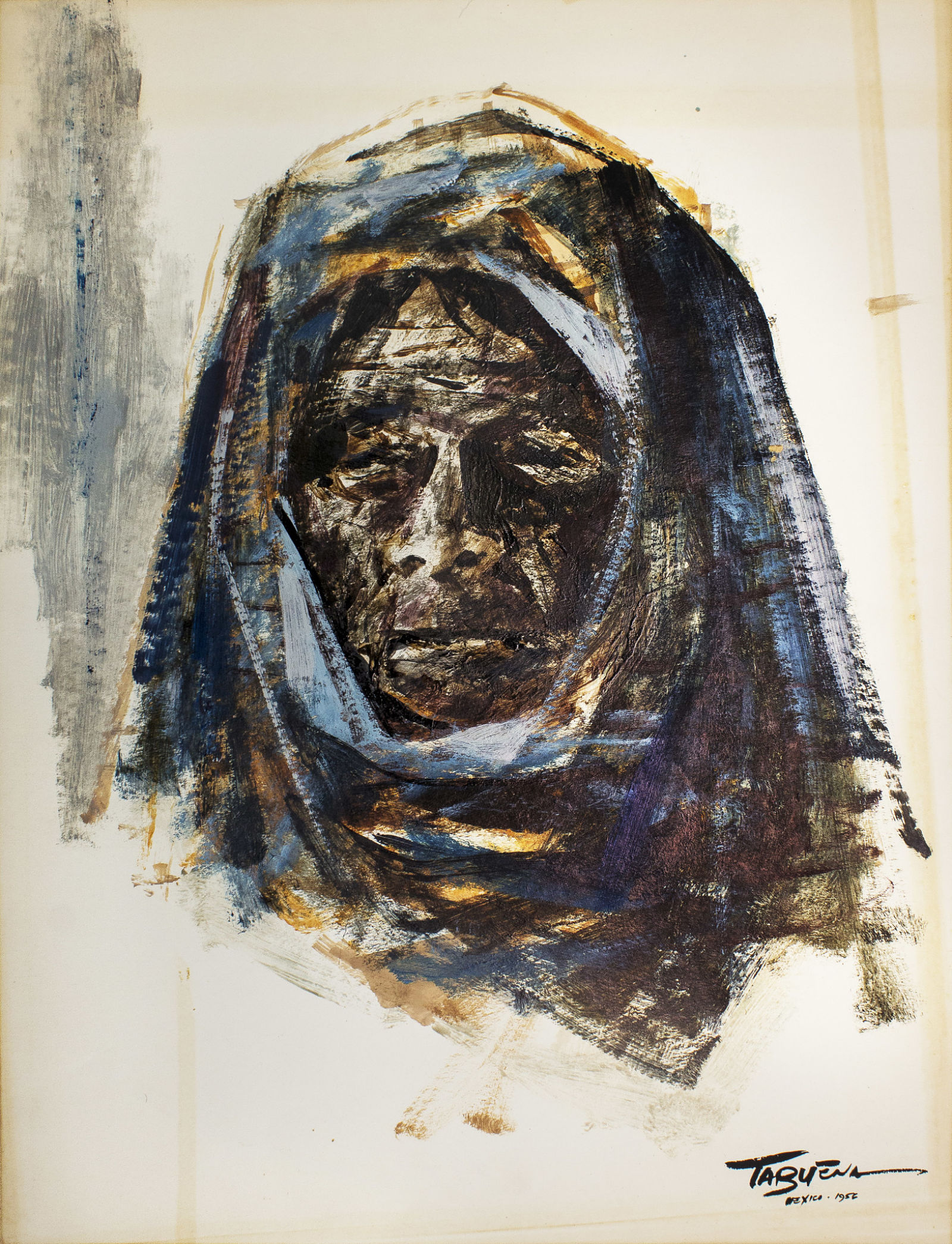Romeo Tabuena Mujer azul 1956