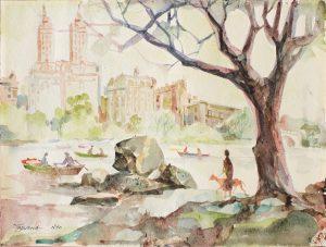 Romeo Tabuena Central Park NY s-f