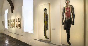 Exhibición, Visceral, Rogelio Manzo, Bellas Artes San Miguel de Allende