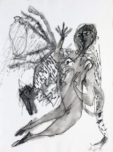 Alejandro Santiago galeria nudo